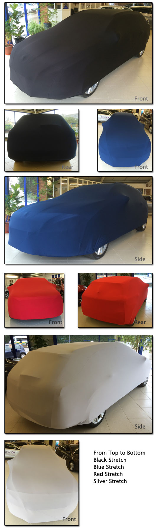 Satin Soft Stretch Indoor Car Cover